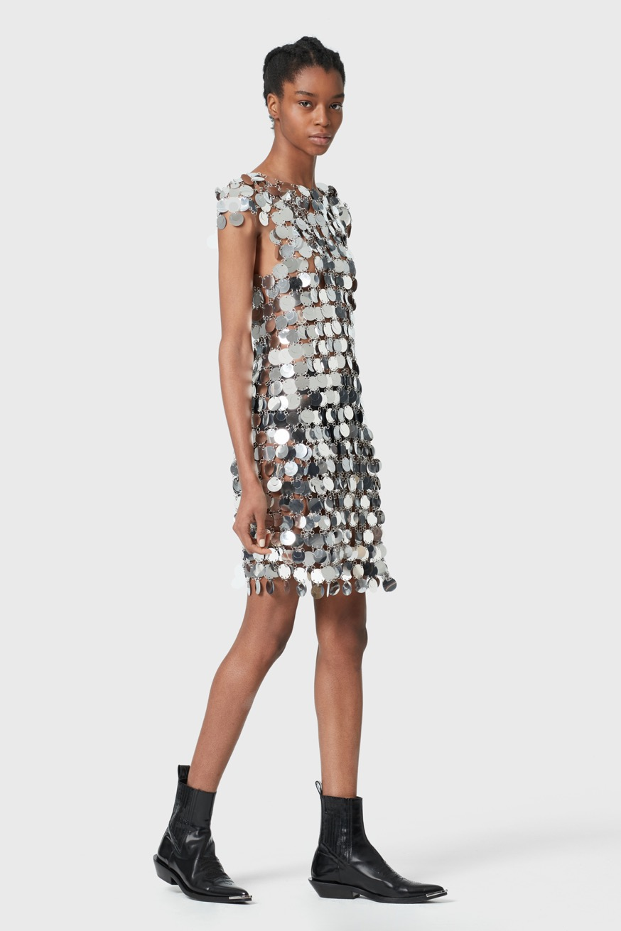 Mini dress - Sparkle Mini dress - Paco Rabanne
