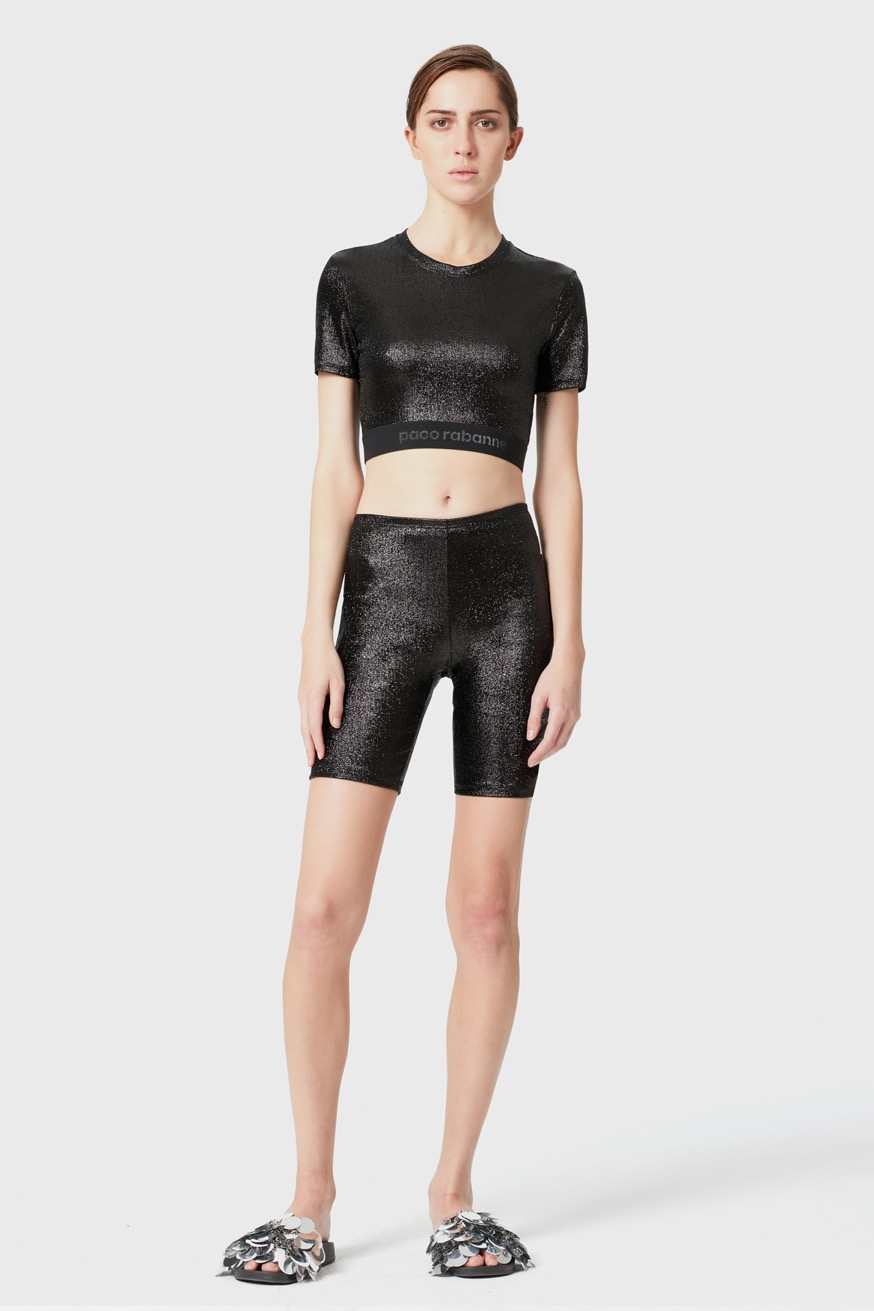 Bodyline crop top - Bodyline crop top - Paco Rabanne