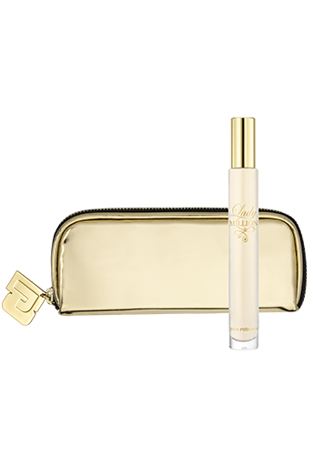Lady Million pouch with travel spray - Lady Million pouch with travel spray - Paco Rabanne