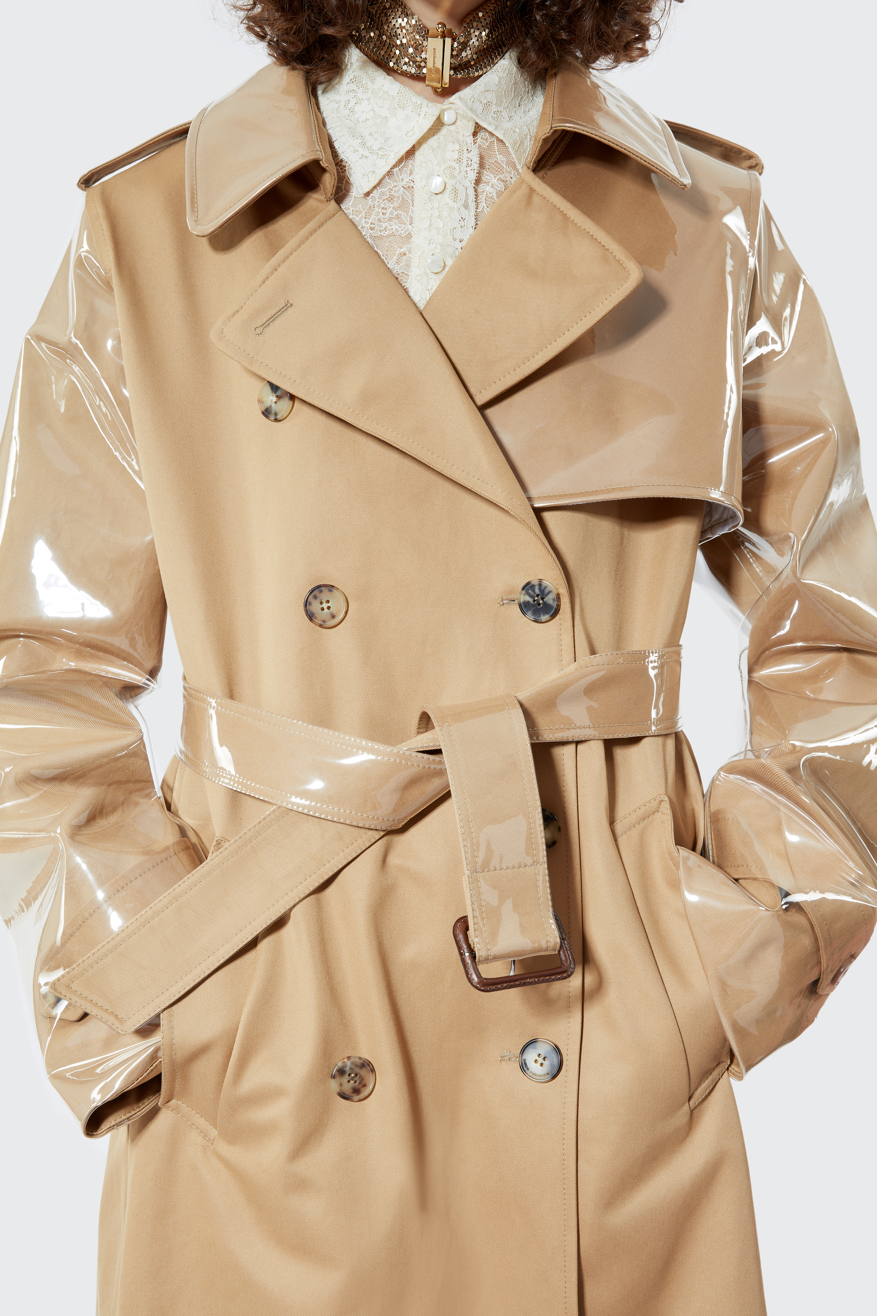 Cappotto trench - Cappotto trench - Paco Rabanne