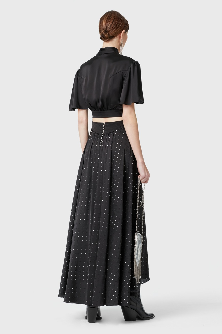 BASE 19HCJU070PO0005 - Long skirt - Paco Rabanne