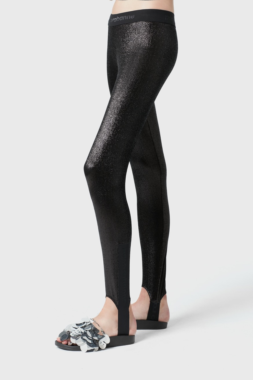 Leggings sportivi Bodyline in jersey - Leggings sportivi Bodyline in jersey - Paco Rabanne