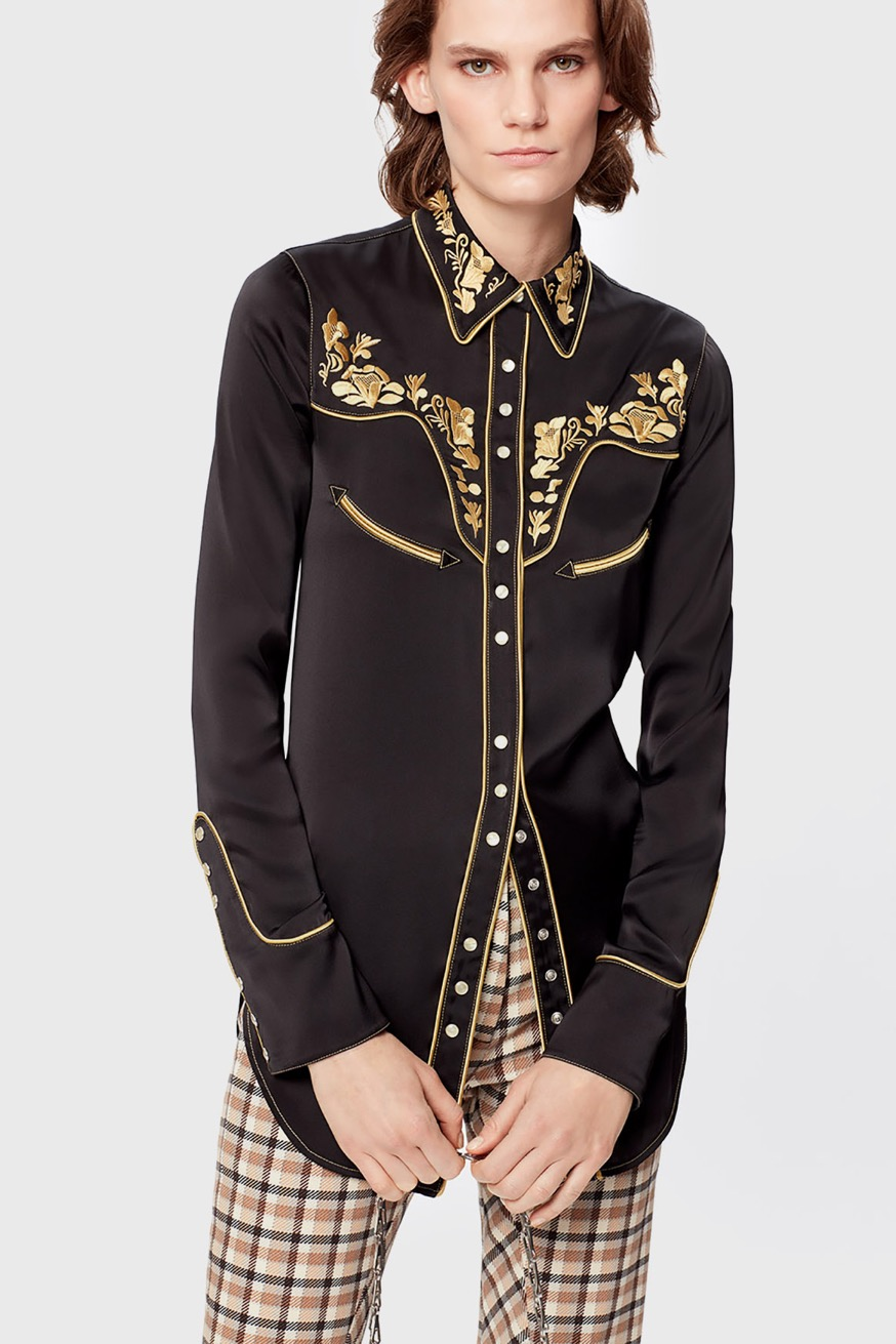 Embroidered shirt - Embroidered shirts - Paco Rabanne