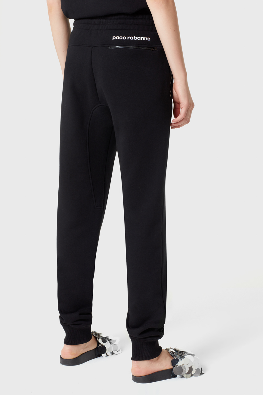 Bodyline black cotton jogging trousers  - Bodyline black cotton jogging trousers  - Paco Rabanne