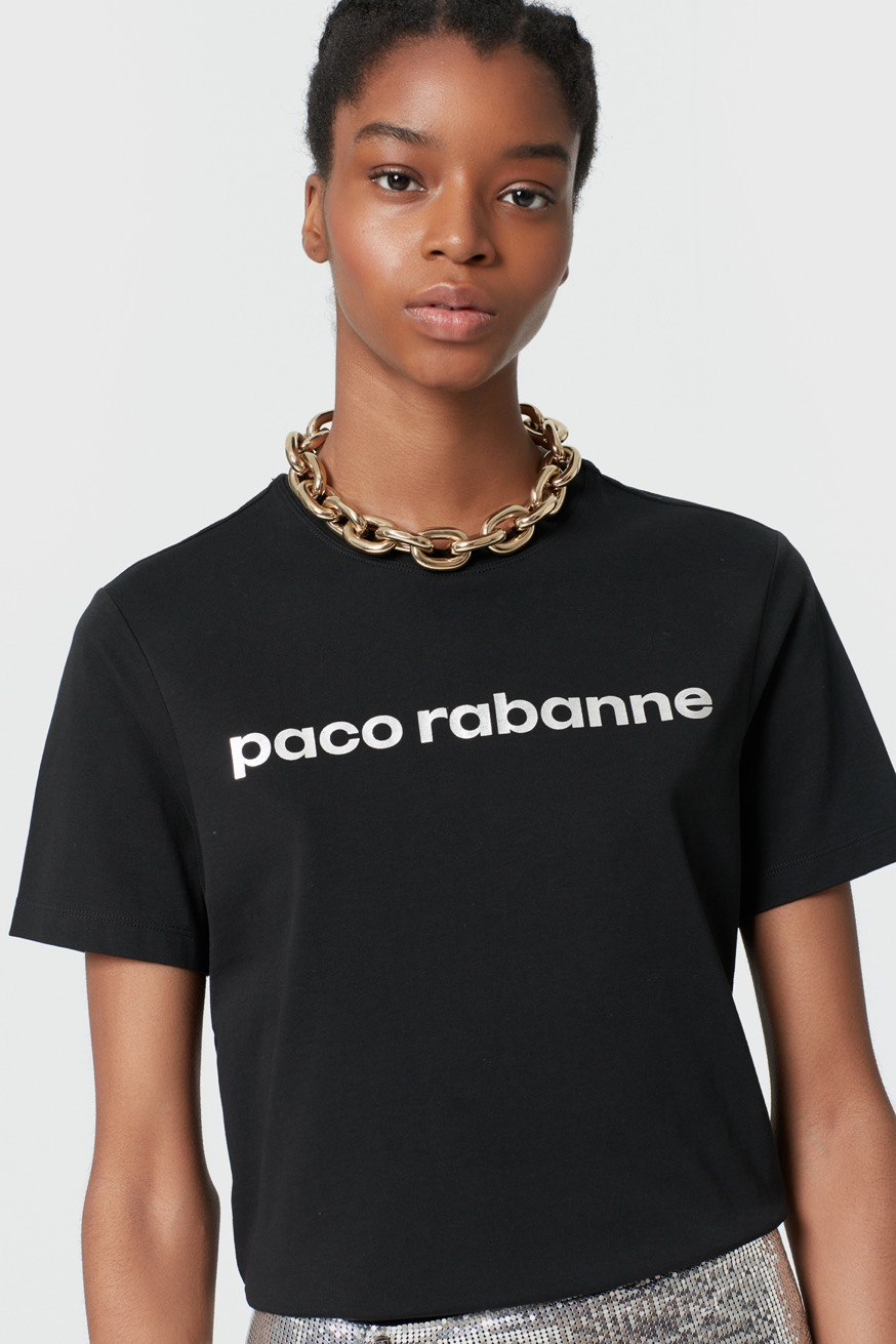 Chunky gold necklace - Chuncky gold necklace - Paco Rabanne