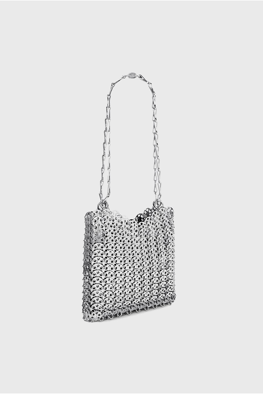 Iconic Bag 1969 silver-toned by Comme des Garçons - Iconic Bag 1969 silver-toned by Comme des Garçons - Paco Rabanne
