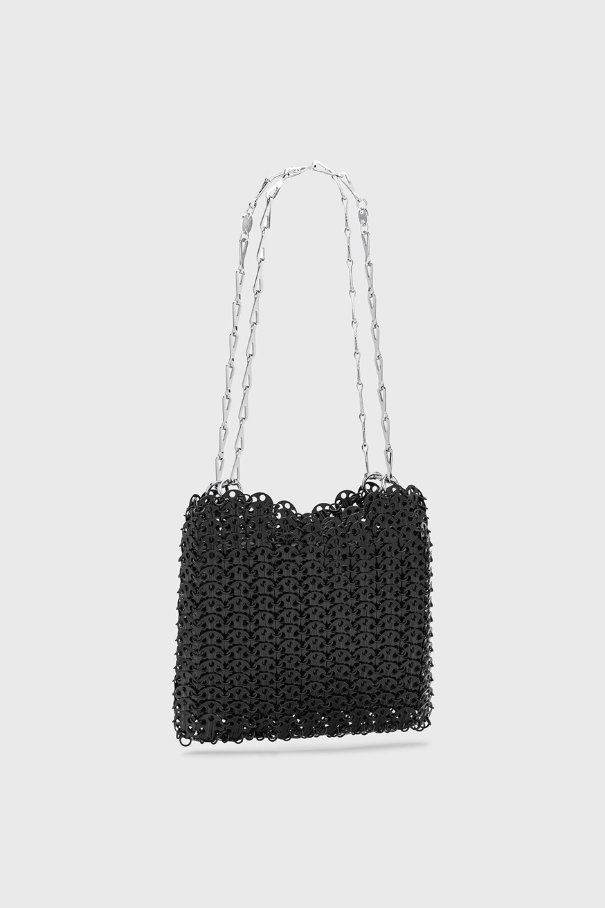 Iconic 1969 chainmail bag in black - Iconic 1969 chainmail bag in black - Paco Rabanne