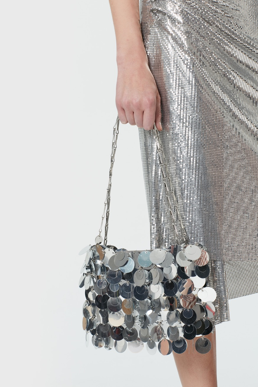 Iconic 1969 sparkle bag - Iconic 1969 sparkle bag - Paco Rabanne