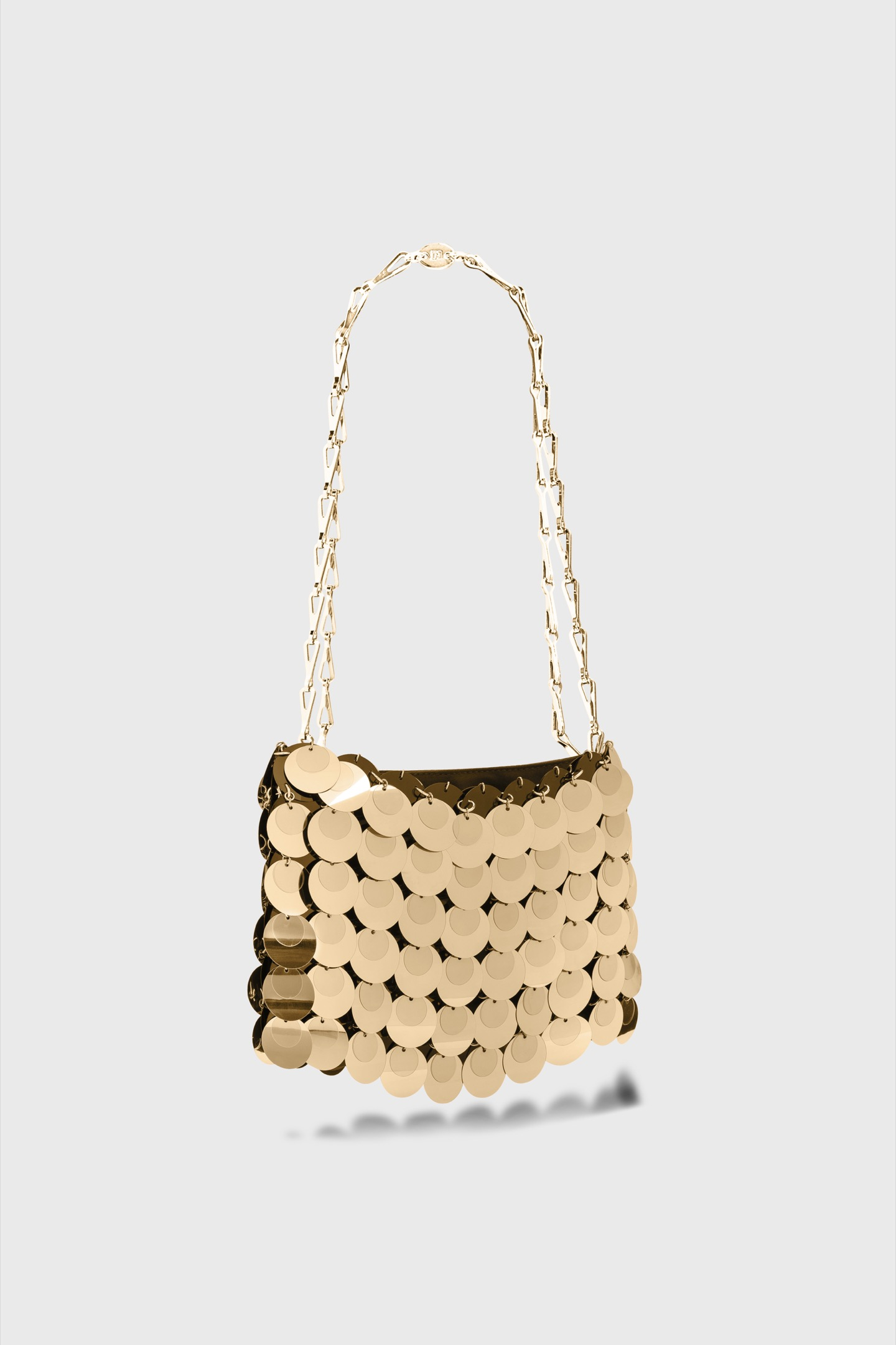 The Iconic 1969 Bag gold sparkle - The Iconic 1969 Bag gold sparkle - Paco Rabanne