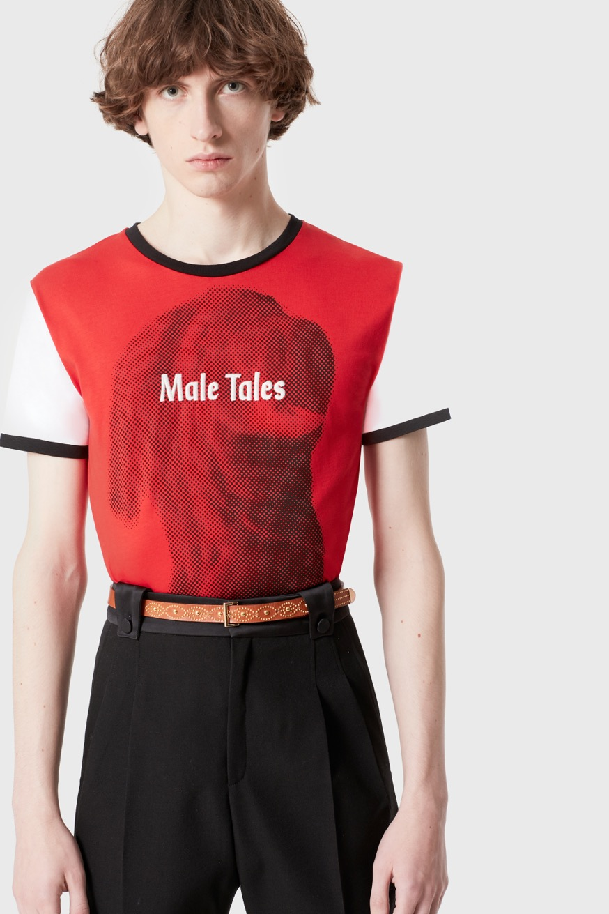 """T-shirt stampata """"Male Tales"""" - T-shirt stampata """"Male Tales"""" - Paco Rabanne"""