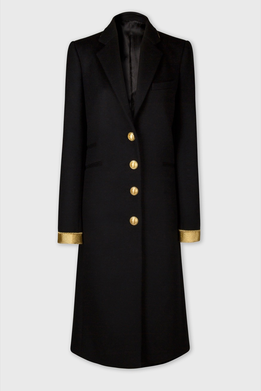 Tailored coat made of wool - Tailored coat made of wool - Paco Rabanne